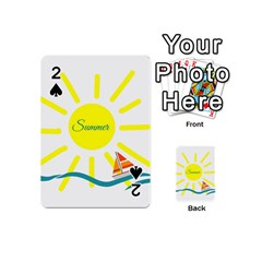 Summer Beach Holiday Holidays Sun Playing Cards 54 (mini)