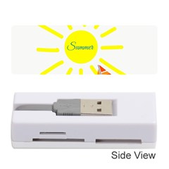 Summer Beach Holiday Holidays Sun Memory Card Reader (stick)