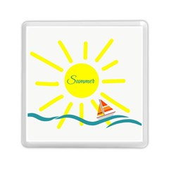 Summer Beach Holiday Holidays Sun Memory Card Reader (square)