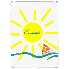 Summer Beach Holiday Holidays Sun Apple Ipad Pro 12 9   Hardshell Case