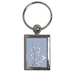 Branch Leaves Branches Plant Key Chains (rectangle)