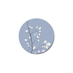Branch Leaves Branches Plant Golf Ball Marker