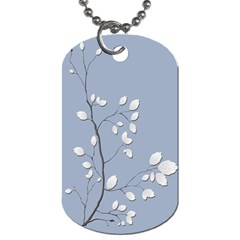 Branch Leaves Branches Plant Dog Tag (two Sides)