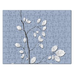 Branch Leaves Branches Plant Rectangular Jigsaw Puzzl