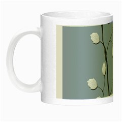 Branch Leaves Branches Plant Night Luminous Mugs