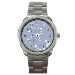 Branch Leaves Branches Plant Sport Metal Watch