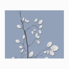 Branch Leaves Branches Plant Small Glasses Cloth (2 Side)