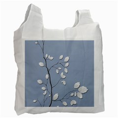 Branch Leaves Branches Plant Recycle Bag (one Side)