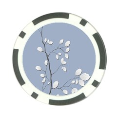 Branch Leaves Branches Plant Poker Chip Card Guard (10 Pack)