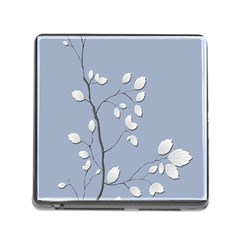 Branch Leaves Branches Plant Memory Card Reader (square)