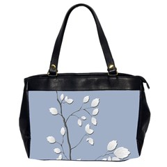 Branch Leaves Branches Plant Office Handbags (2 Sides)