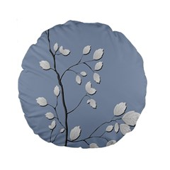 Branch Leaves Branches Plant Standard 15  Premium Round Cushions