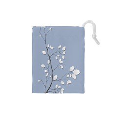 Branch Leaves Branches Plant Drawstring Pouches (small)