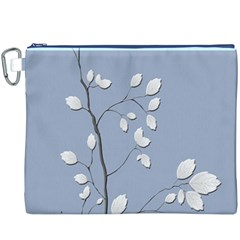 Branch Leaves Branches Plant Canvas Cosmetic Bag (xxxl)