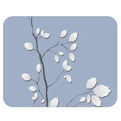 Branch Leaves Branches Plant Double Sided Flano Blanket (medium)