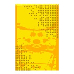 Texture Yellow Abstract Background Shower Curtain 48  X 72  (small)