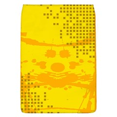Texture Yellow Abstract Background Flap Covers (l)