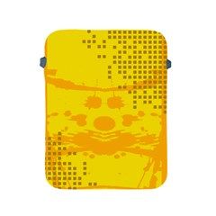 Texture Yellow Abstract Background Apple Ipad 2/3/4 Protective Soft Cases