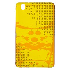 Texture Yellow Abstract Background Samsung Galaxy Tab Pro 8 4 Hardshell Case