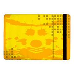 Texture Yellow Abstract Background Samsung Galaxy Tab Pro 10 1  Flip Case