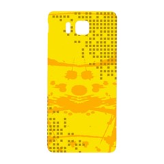 Texture Yellow Abstract Background Samsung Galaxy Alpha Hardshell Back Case