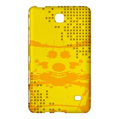 Texture Yellow Abstract Background Samsung Galaxy Tab 4 (7 ) Hardshell Case