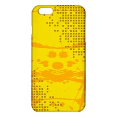 Texture Yellow Abstract Background Iphone 6 Plus/6s Plus Tpu Case