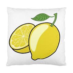 Lemon Fruit Green Yellow Citrus Standard Cushion Case (one Side)