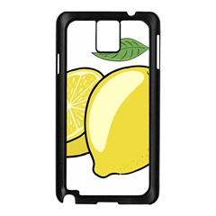 Lemon Fruit Green Yellow Citrus Samsung Galaxy Note 3 N9005 Case (black)