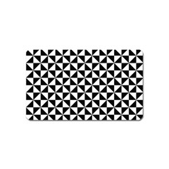 Triangle Pattern Simple Triangular Magnet (name Card)