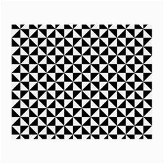Triangle Pattern Simple Triangular Small Glasses Cloth