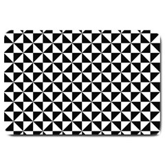 Triangle Pattern Simple Triangular Large Doormat