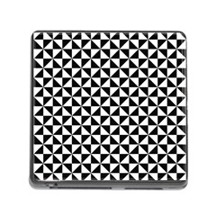 Triangle Pattern Simple Triangular Memory Card Reader (square)