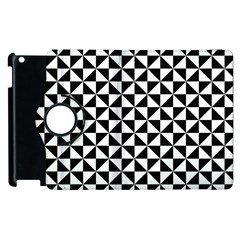 Triangle Pattern Simple Triangular Apple Ipad 3/4 Flip 360 Case