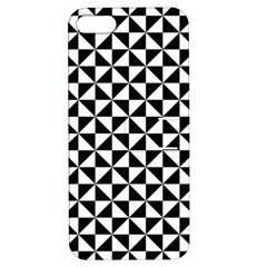Triangle Pattern Simple Triangular Apple Iphone 5 Hardshell Case With Stand