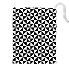 Triangle Pattern Simple Triangular Drawstring Pouches (xxl)