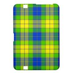 Spring Plaid Yellow Blue And Green Kindle Fire Hd 8 9