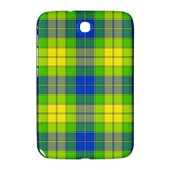Spring Plaid Yellow Blue And Green Samsung Galaxy Note 8 0 N5100 Hardshell Case