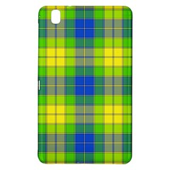 Spring Plaid Yellow Blue And Green Samsung Galaxy Tab Pro 8 4 Hardshell Case