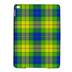 Spring Plaid Yellow Blue And Green Ipad Air 2 Hardshell Cases