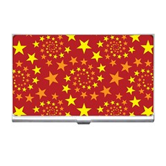 Star Stars Pattern Design Business Card Holders