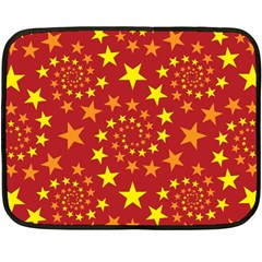 Star Stars Pattern Design Double Sided Fleece Blanket (mini)