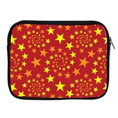 Star Stars Pattern Design Apple Ipad 2/3/4 Zipper Cases