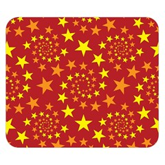 Star Stars Pattern Design Double Sided Flano Blanket (small)