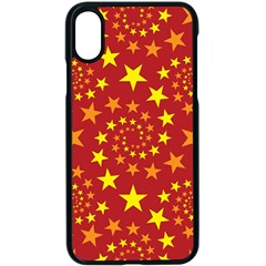 Star Stars Pattern Design Apple Iphone X Seamless Case (black)