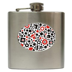 Square Objects Future Modern Hip Flask (6 Oz)