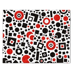 Square Objects Future Modern Rectangular Jigsaw Puzzl