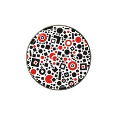 Square Objects Future Modern Hat Clip Ball Marker