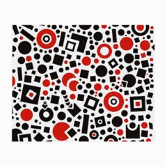 Square Objects Future Modern Small Glasses Cloth