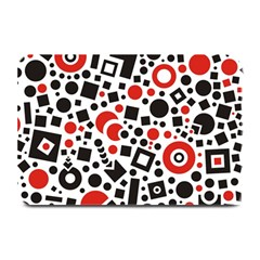 Square Objects Future Modern Plate Mats